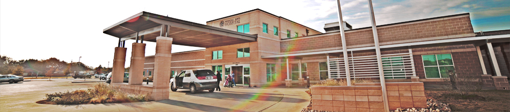 Medical Arts Hospital Front Entrance